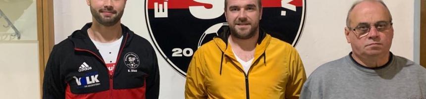 Neues Trainerteam bei der Verbandsligareserve