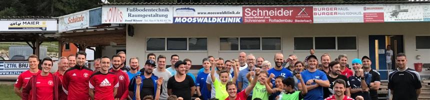 Fußballschule des SC Freiburg in der Werner-Gießler-Arena!